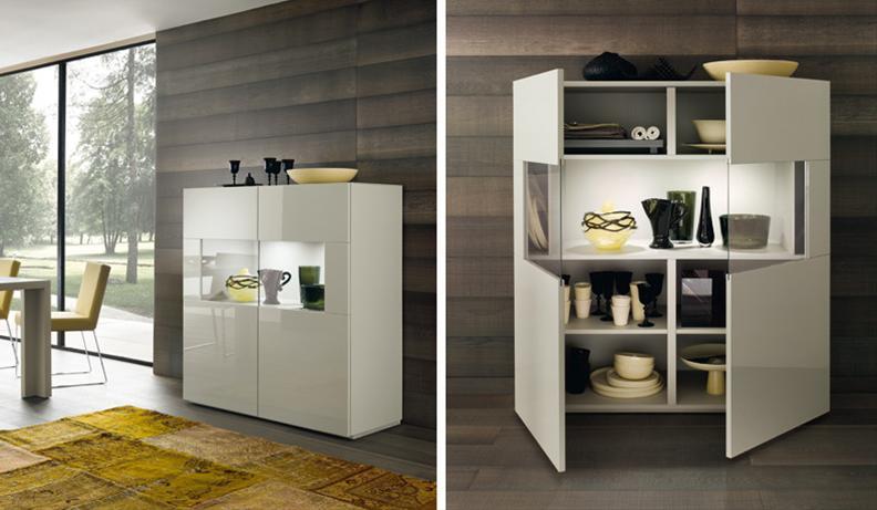 Credenza Cucina Con Vetrina : Vendita mobili cucine arredamento brescia lanzini